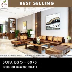 SOFA  GỖ SERIES EGO-007S