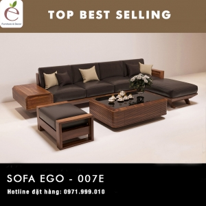 SOFA  GỖ SERIES EGO-007E