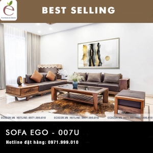 SOFA  GỖ SERIES EGO-007U