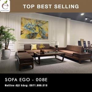 SOFA  GỖ SERIES EGO-008E