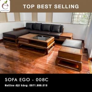 SOFA  GỖ SERIES EGO-008C