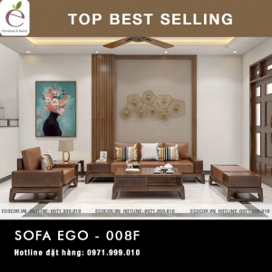 SOFA  GỖ SERIES EGO-008F