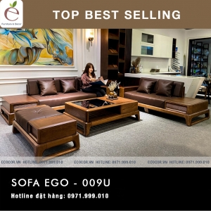 SOFA  GỖ SERIES EGO-009U