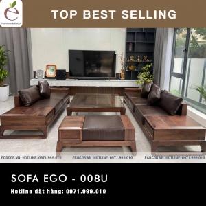 SOFA  GỖ SERIES EGO-008U